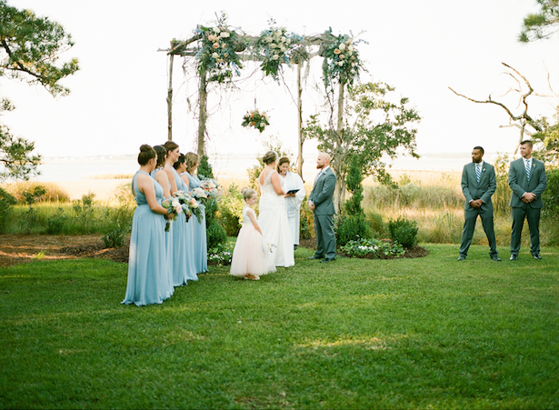 Outdoors Wedding Ceremony  ~ Keepsake Memories Photography