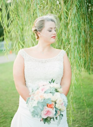 Vintage Bridal Look  ~ Keepsake Memories Photography