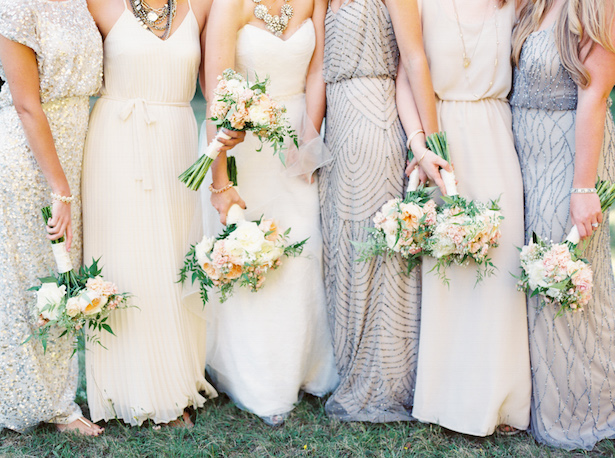Adrianna Papell Beaded Bridesmaid Dresses