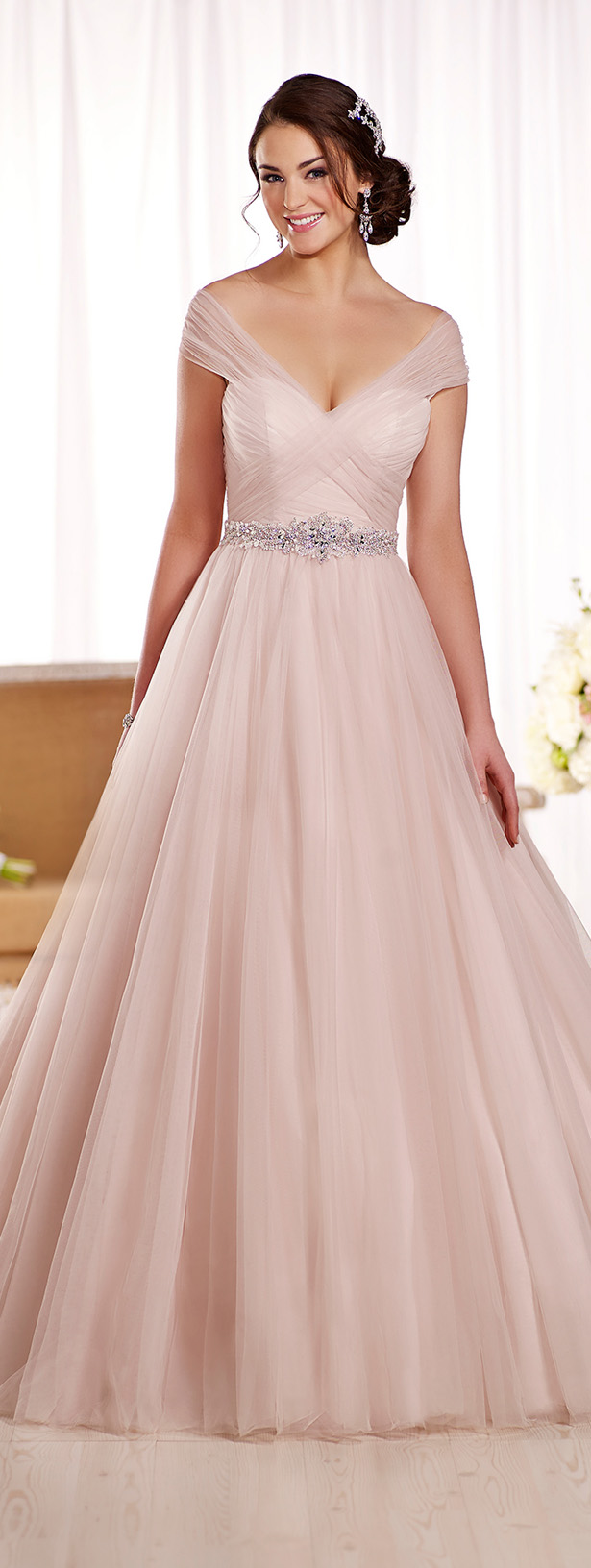 Essense of australia spring 2016 bridal collection belle for Wedding dresses 2016 collection