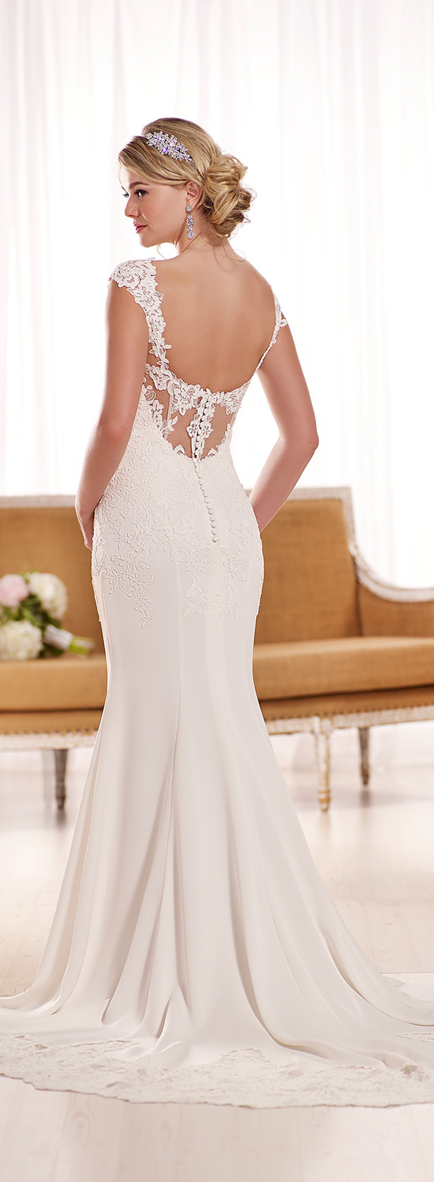 amazing essence wedding dress of australia d1042. 8600 from our