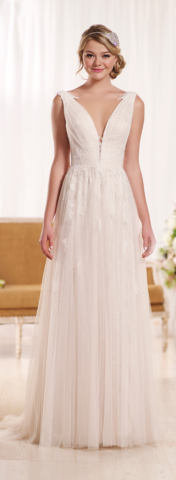 10 Wedding Dresses Inspired by The Emmy\'s 2015 - Belle The Magazine