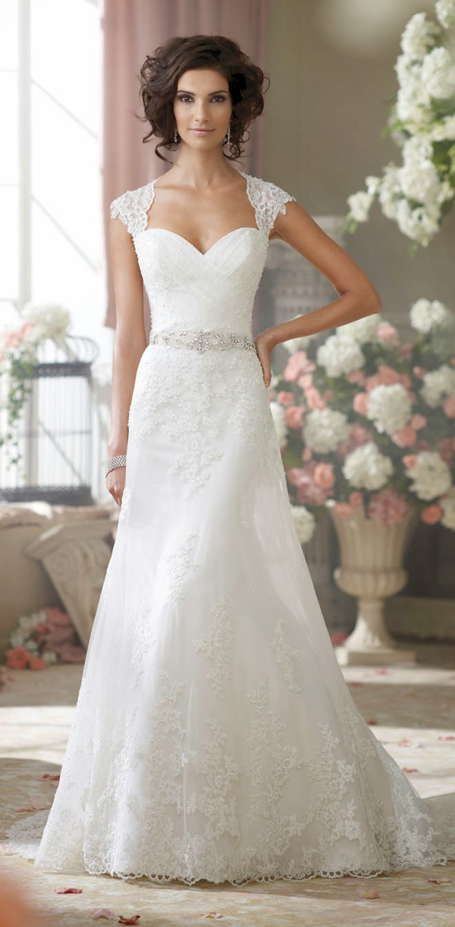 Best Wedding Dresses of 2014 - David Tutera for Mon Cheri