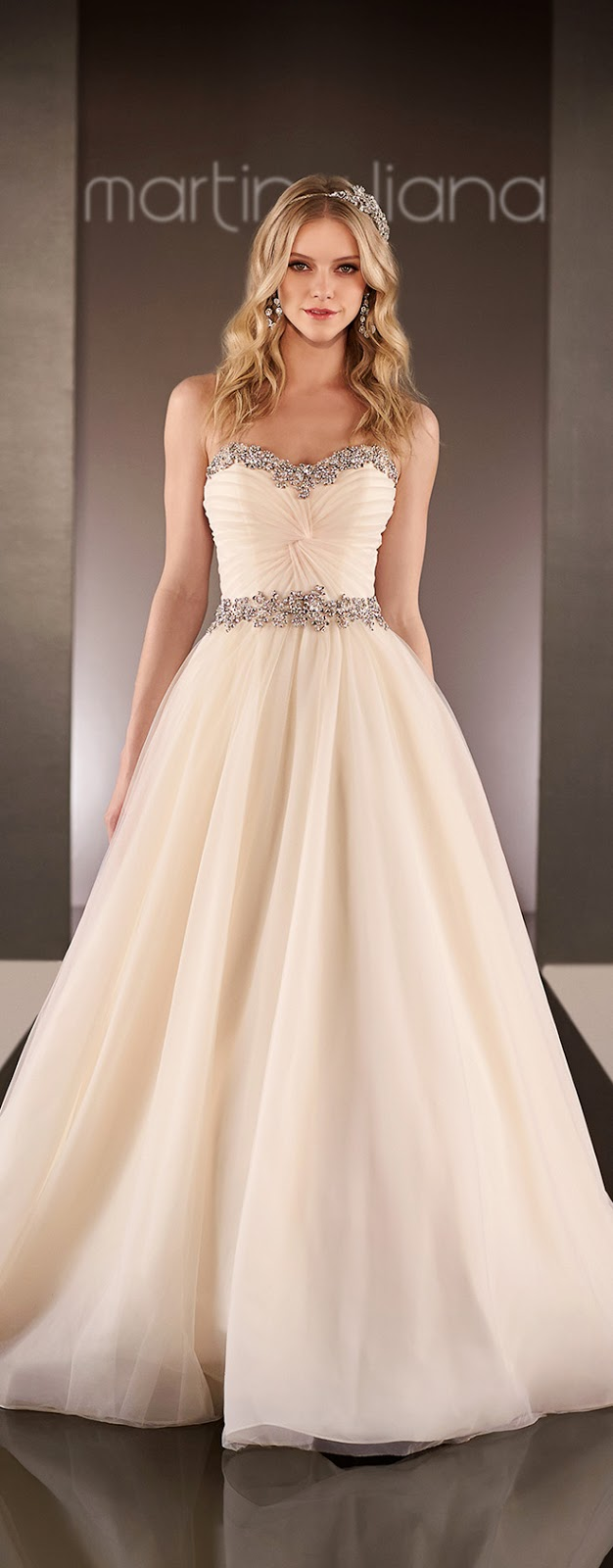 Best Wedding Dresses of 2014 - Martina Liana
