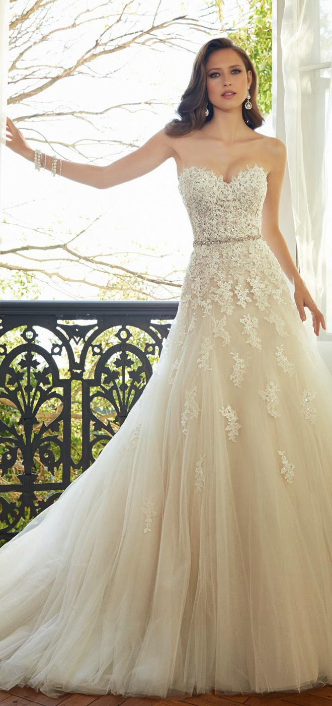 Best Wedding Dresses of 2014 - Sophia Tolli