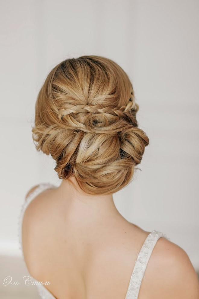 Best wedding hairstyles of 2014 belle the magazine - Chignon original ...