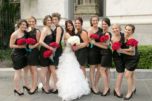 Black bridesmaid dresses - Arte De Vie Photography