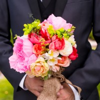 Colorful Wedding Bouquet - Kirsten Smith Photography