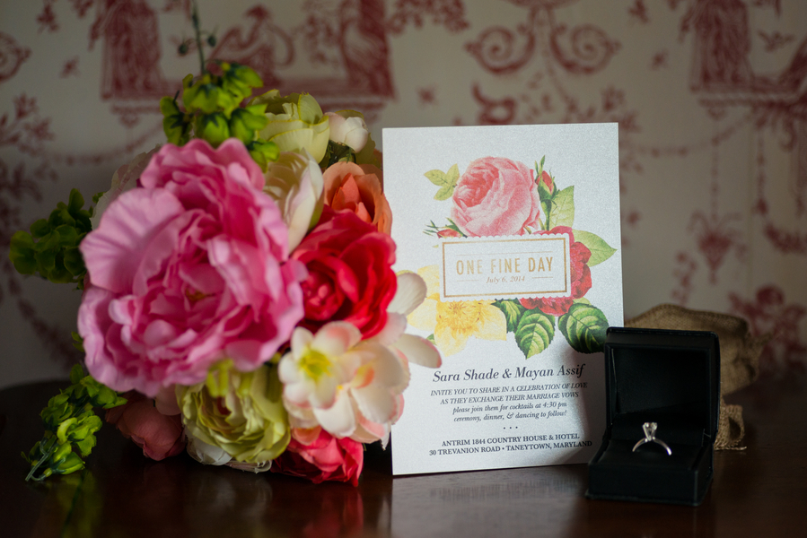 Floral Wedding Invites  - Kirsten Smith Photography