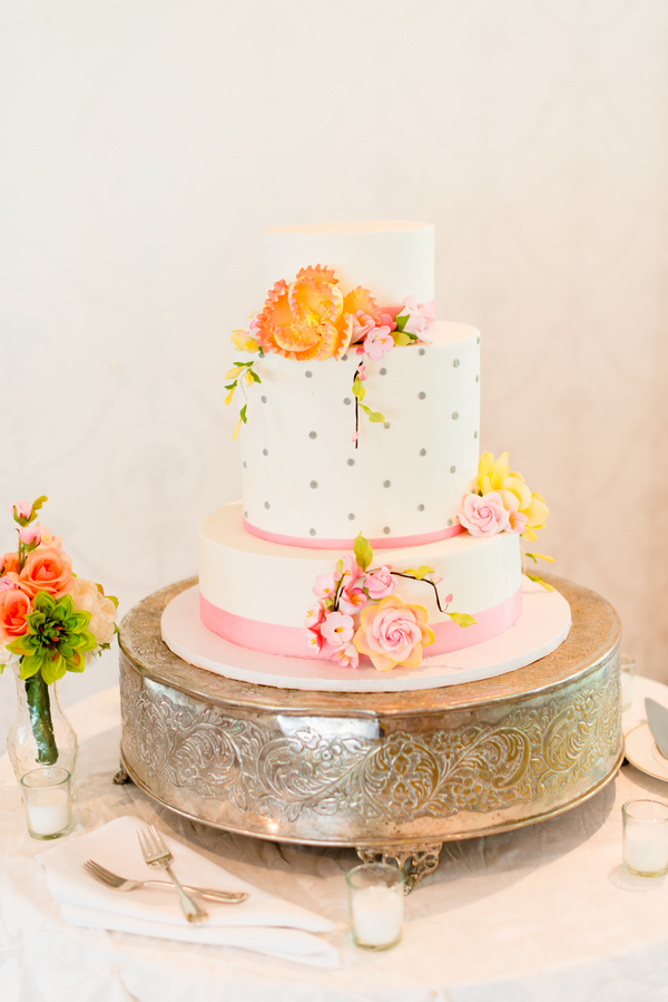 Modern Wedding Cake   - Kirsten Smith Photography