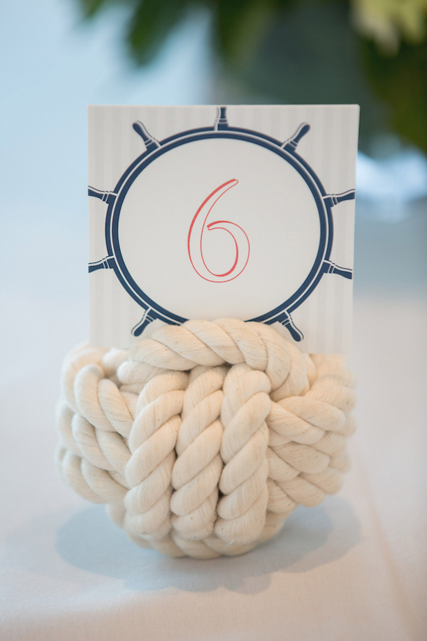 Table number - Nicole Lopez Photography