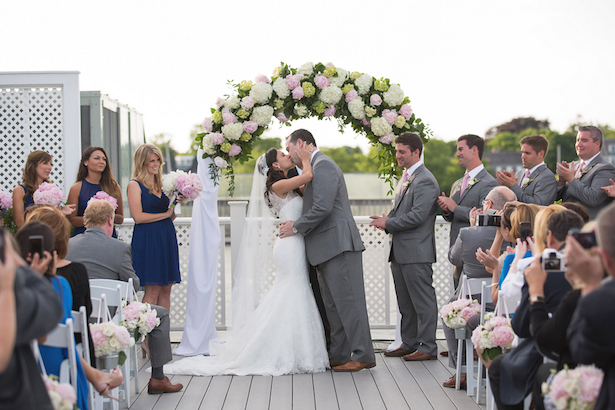 Outdoors Wedding Ceremony - Nicole Lopez Photography