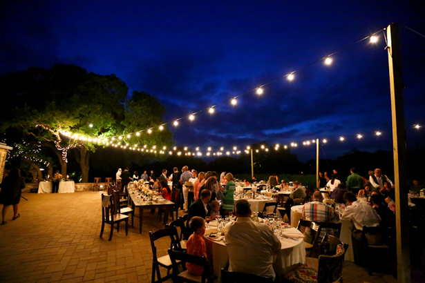 Outdoors Wedding Reception