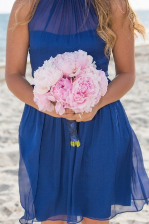 Pink Peony bouquet - Nicole Lopez Photography