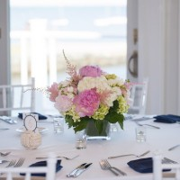 Pink and Blue Beach Theme Wedding - Nicole Lopez Photography