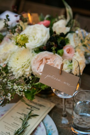 Escort Cards Wedding - Kelly Williams Photography