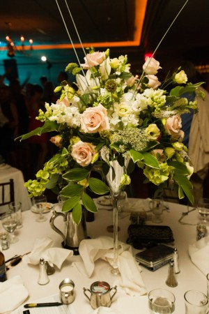 Tall Wedding Centerpiece - Matthew J. Wagner Fine Photography