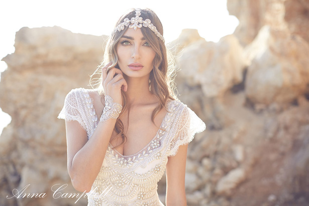 Wedding Dress by Anna Campbell Spirits Collection