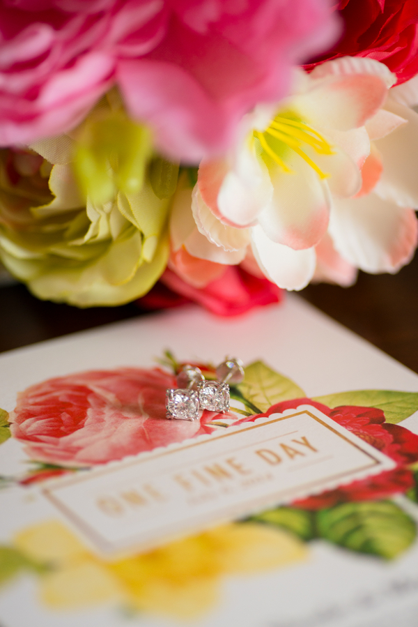 Colorful Wedding Flowers - Kirsten Smith Photography