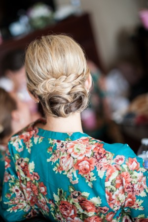 Wedding Hairstyle - Ben Elsass Photography