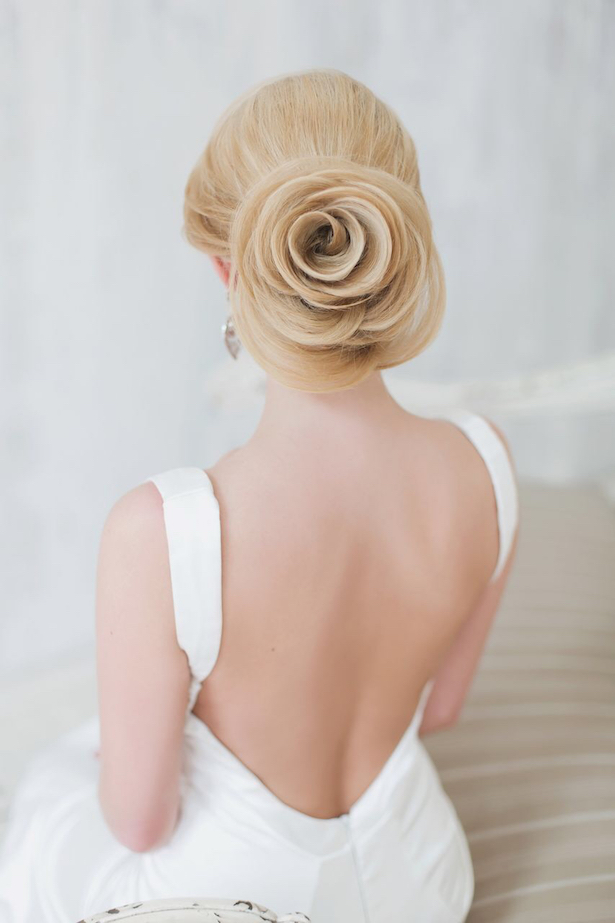 Fabulous Wedding Hairstyles: Bridal Updos - Belle The Magazine