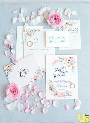 Lauren Conrad's Wedding Invitations