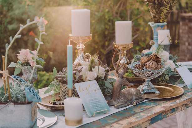 Boho Chic Wedding Styled Shoot With Dreamy Paper Details Galore