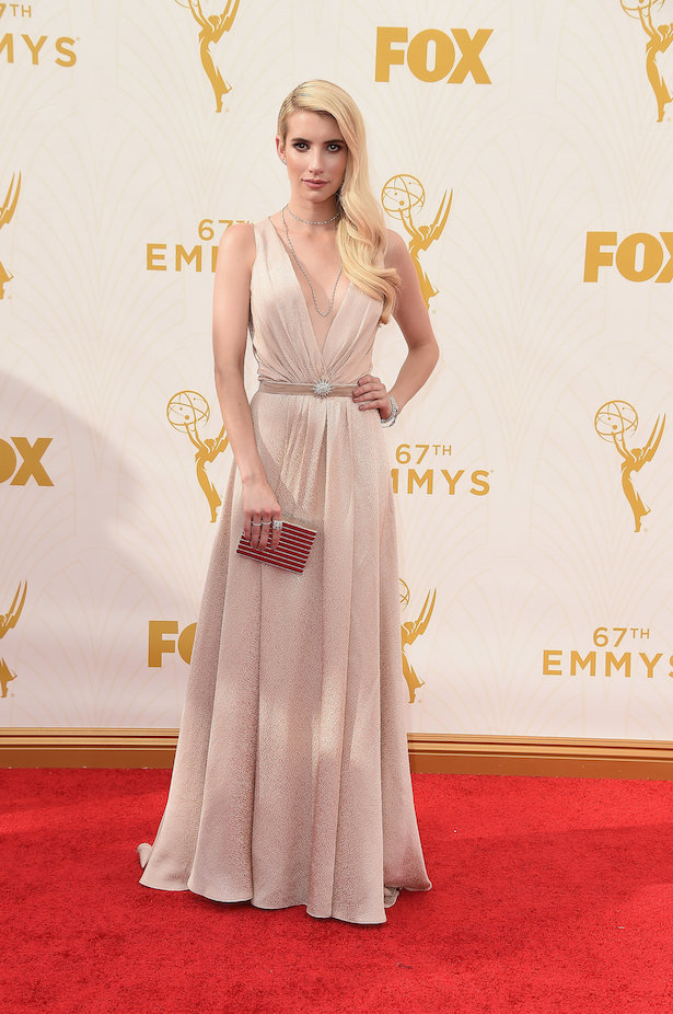 Wedding Dresses Inspired by The Emmy's - Emma Roberts