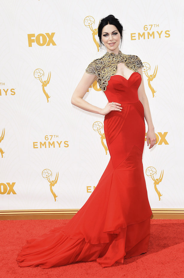 Wedding Dresses Inspired by The Emmy's - Laura Prepon