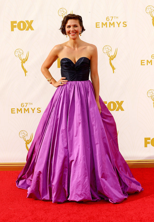 Wedding Dresses Inspired by The Emmy's - Maggie-Gyllenhaal