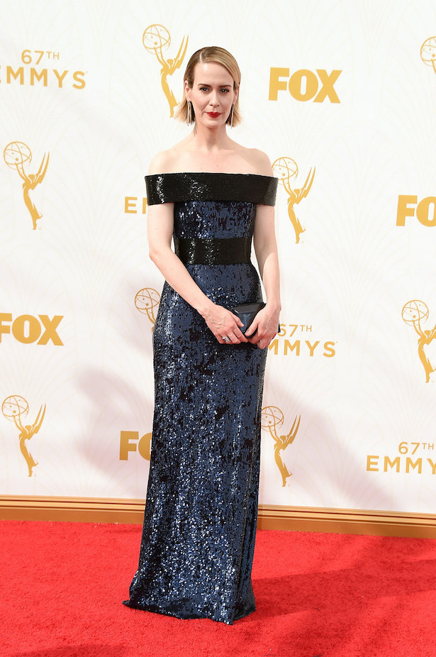 Wedding Dresses Inspired by The Emmy's - Sarah Paulson
