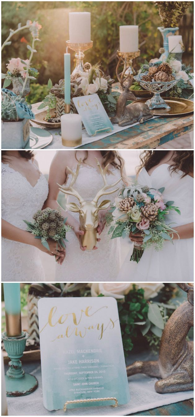 Boho-Chic Wedding Styled Shoot With Dreamy Paper Details Galore!