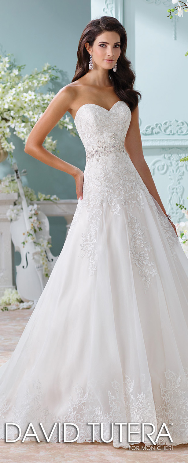 David tutera for mon cheri spring 2016 decor advisor for Mon cheri wedding dresses 2016