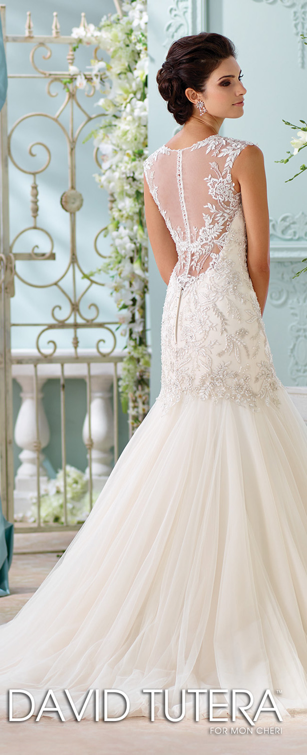 David Tutera For Mon Cheri Fall 2015 Bridal Collection recommend