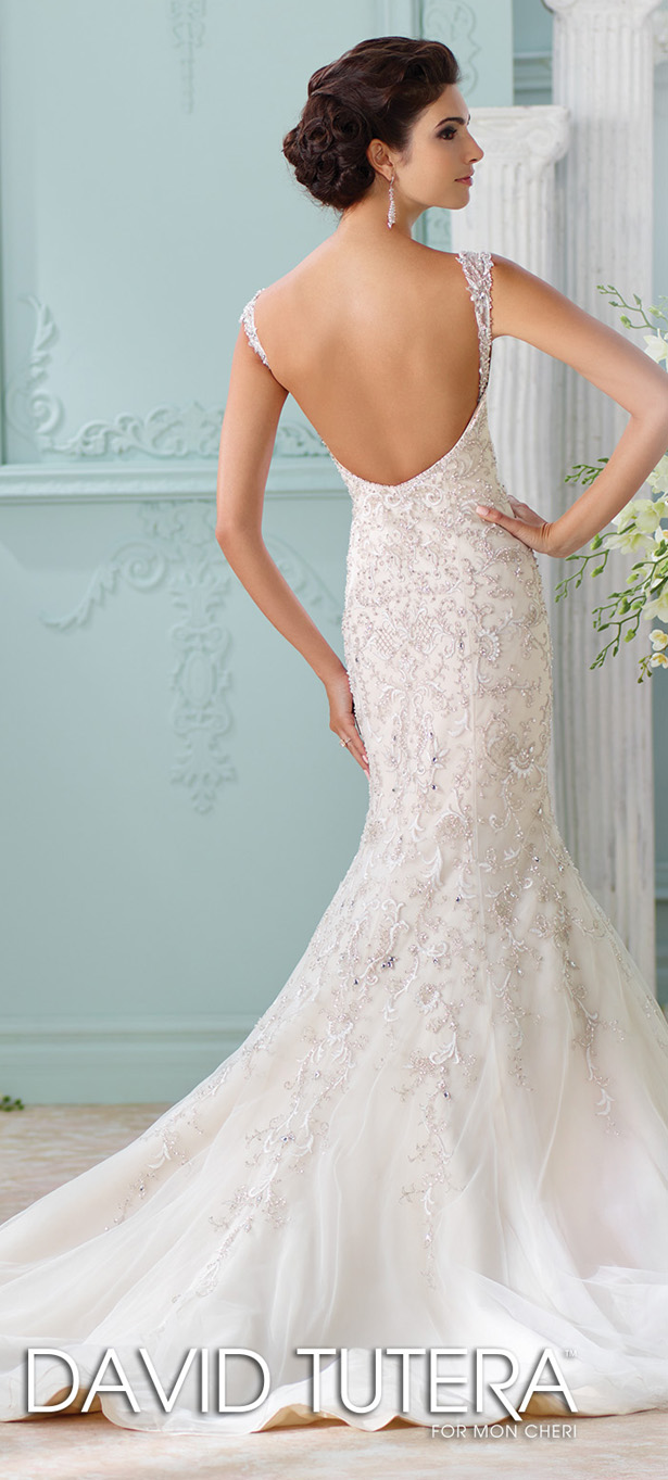 David tutera for mon cheri spring 2016 belle the magazine for David tutera beach wedding dresses