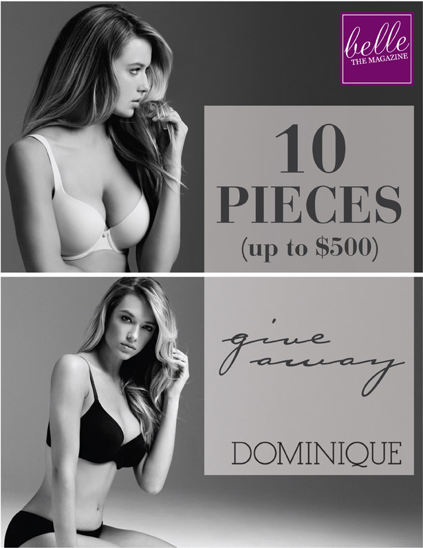 6 Days of Giveaways – Day 3: Win 10 Intimate Pieces by Dominique