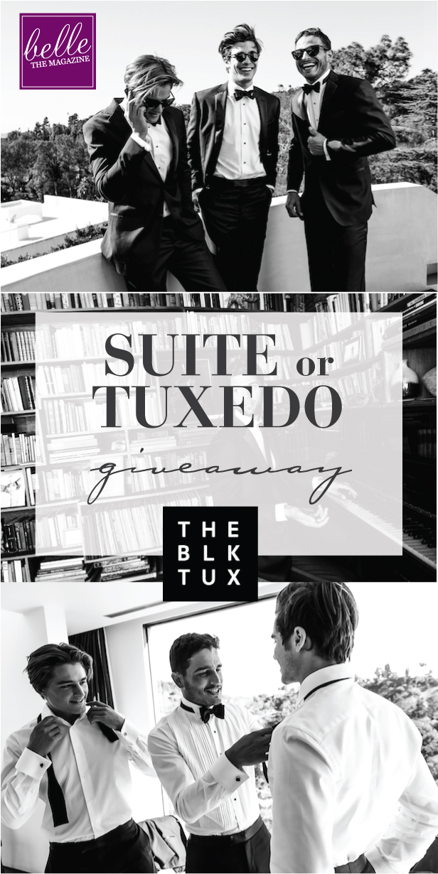 6 Days of Giveaways – Day 5 : Win a Tux from The Black Tux