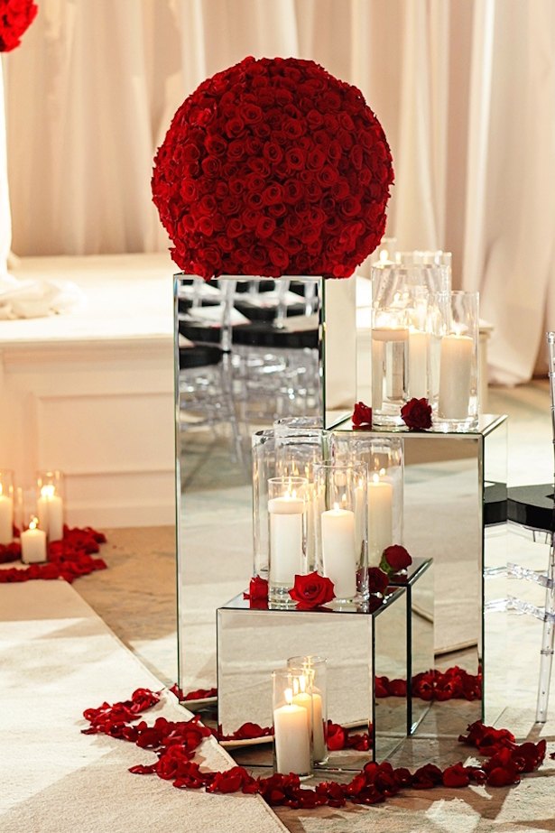 Beautiful mirror wedding ideas belle the magazine