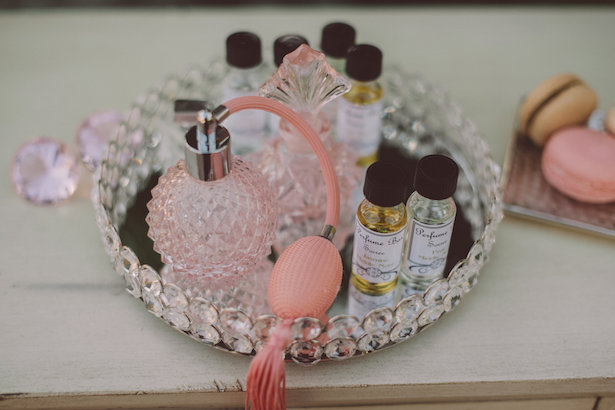 Custom Perfume Bar for your Bridal Celebrations