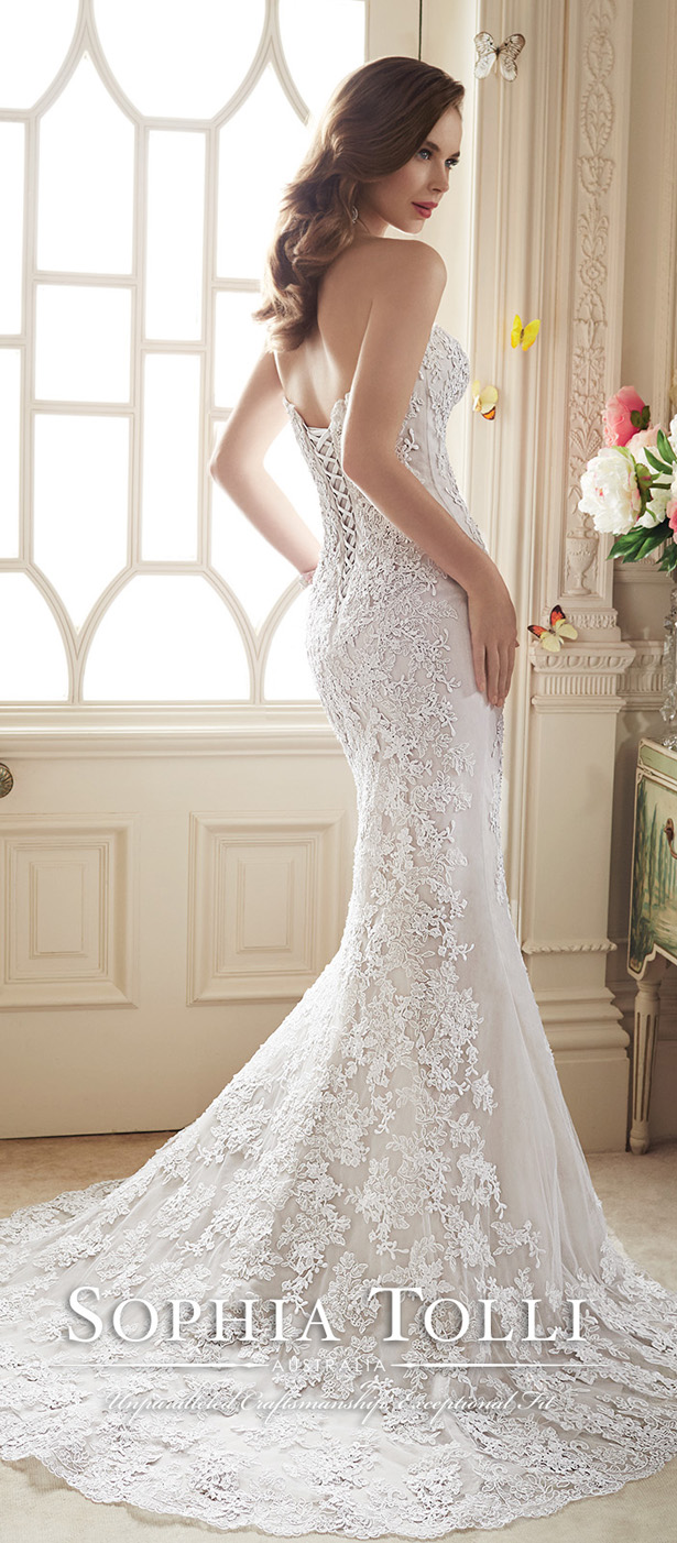 Sophia Tolli Spring 2016 Wedding Dress