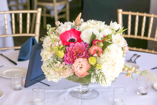 Wedding Centerpiece - Stephanie Rose Events and Heather Elise Photography