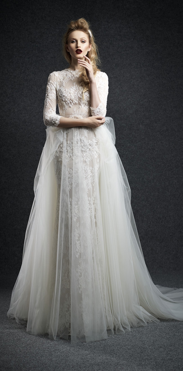 Ersa atelier fall 2015 wedding dresses belle the magazine for Ersa atelier wedding dress