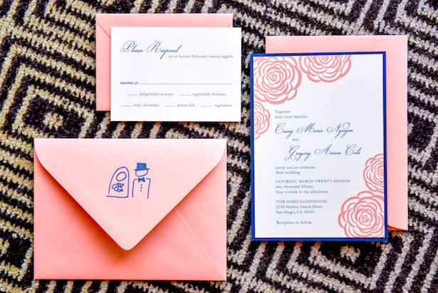 Wedding Invitations - Stephanie Rose Events and Heather Elise Photography