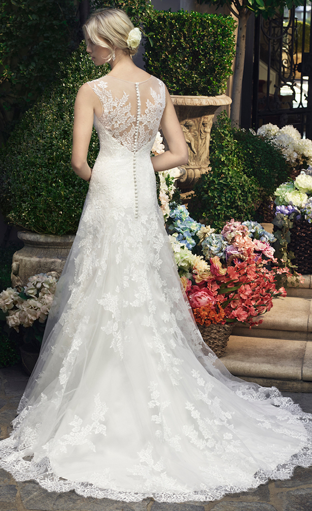 Wedding Dress by Casablanca Bridal 2016