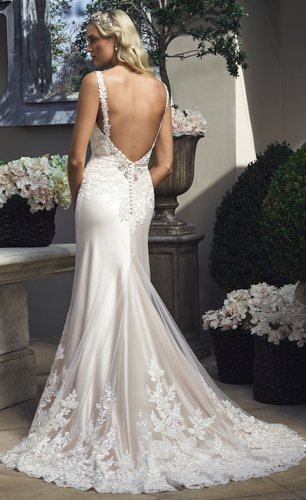 Casablanca bridal fall 2015 collection belle the magazine for How much are casablanca wedding dresses