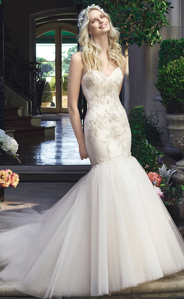 #Wedding Dress by Casablanca Bridal 2016