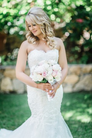 Sophisticated Bride - Wedding first look -Michael Anthony Photography