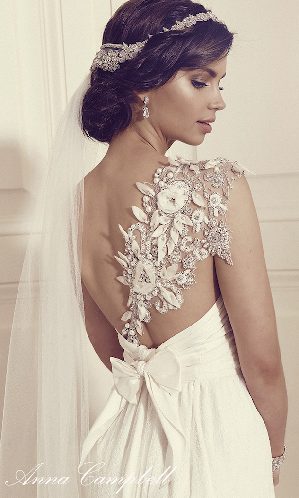 Anna campbell gossamer 2016 bridal collection belle the for Anna campbell wedding dress for sale