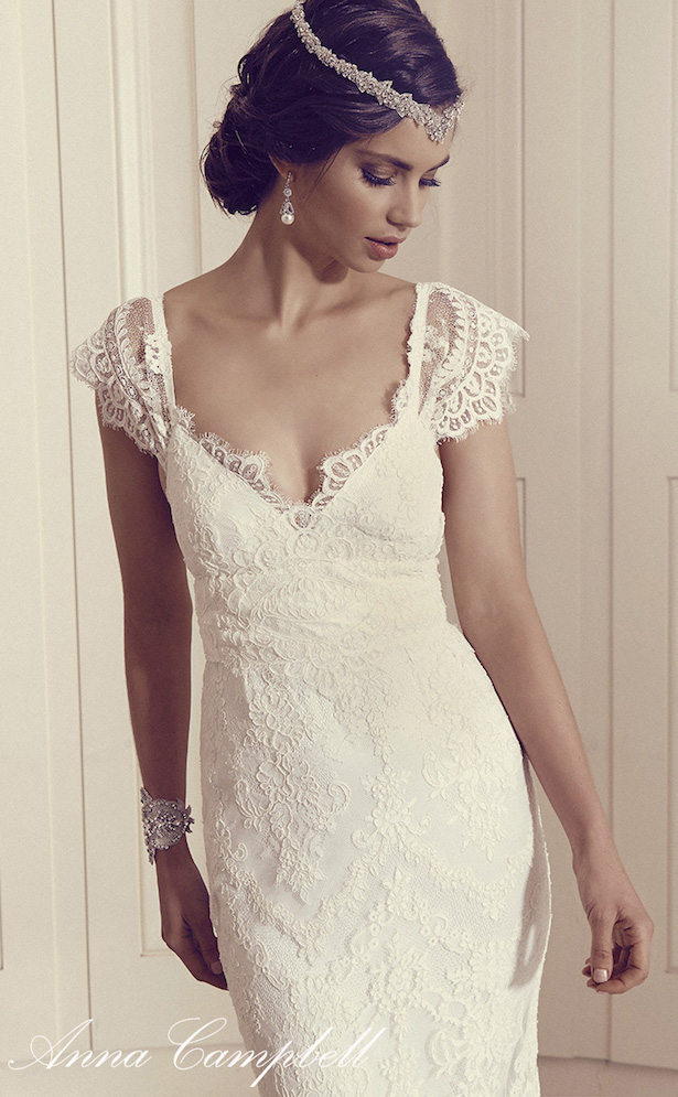 Anna campbell gossamer 2016 bridal collection belle the for Anna campbell wedding dress used