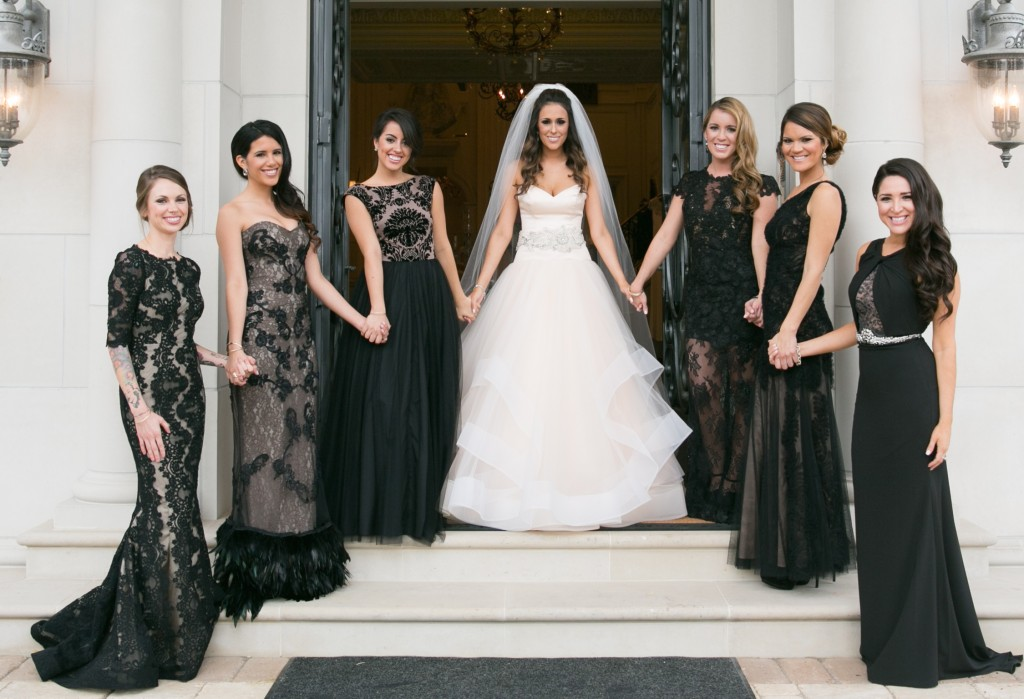 Black Bridesmaid Dresses Occasio Productions Btmvendor